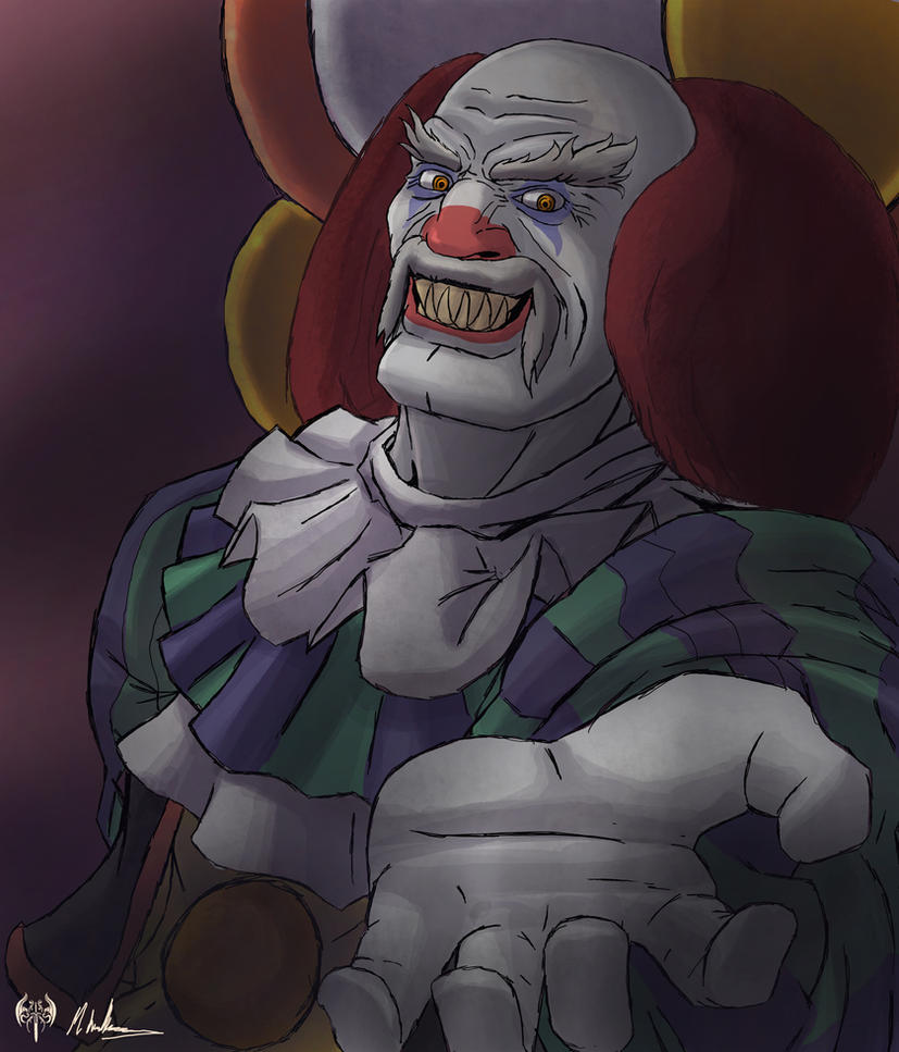 browsing fan art on halloween contest heihachi pennywise by sarrus