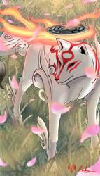 Okami Amaterasu by sarrus