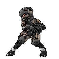 MGS4 Frog Soldier Sprite