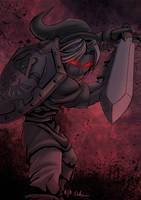 -- Zelda Tribute -- Dark Link by sarrus