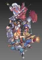 Final Fantasy IX by sarrus