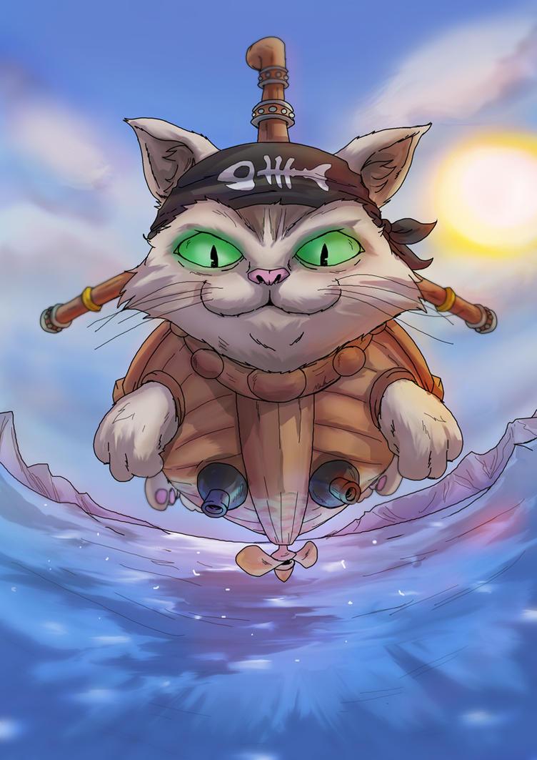-- Boss Challenge -- Cat Battleship MK 1 by sarrus