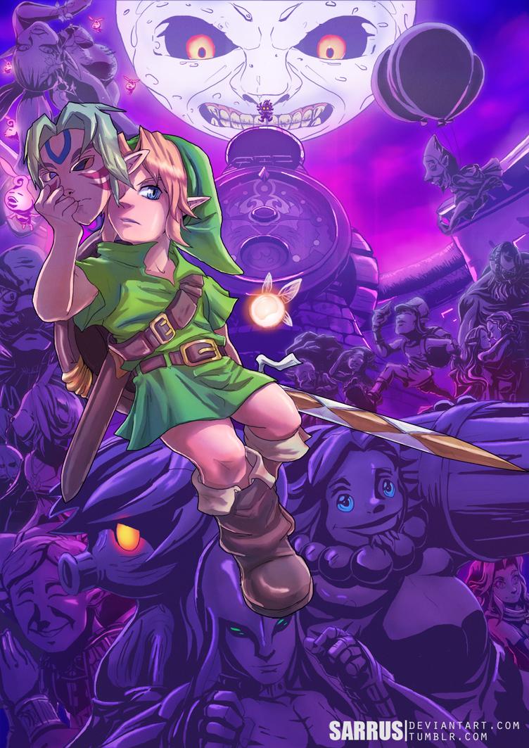 -- Tribute -- The Legend of Zelda: Majora's Mask by sarrus