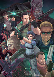 Resident Evil. by sarrus
