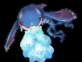 -- Pokemon Gen III tribute -- Kyogre by sarrus