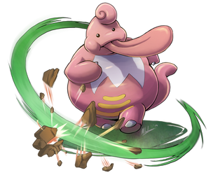 -- Pokemon Gen IV Tribute -- LickiLicky by sarrus