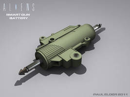 Smart gun battery by paulelder