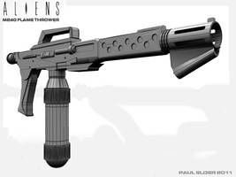 M240 wireframe by paulelder