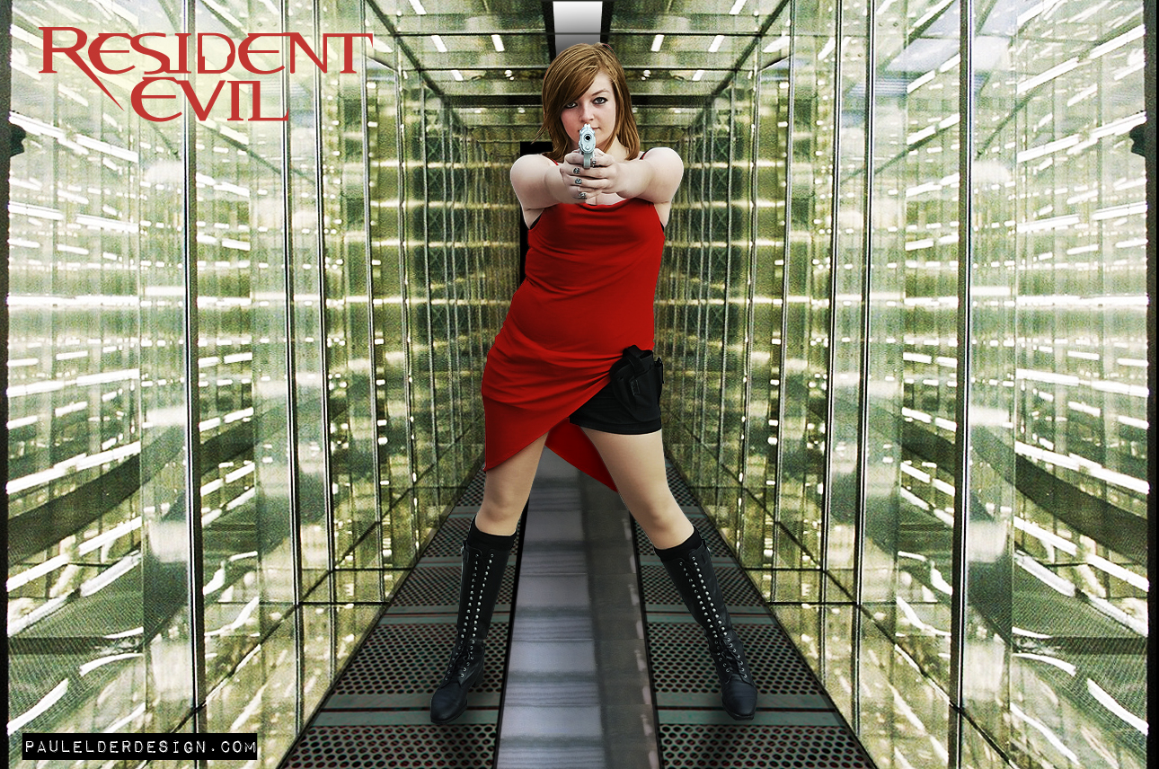 Resident Evil for Helen by paulelder