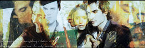 You Elena choose Damon by Schoggii