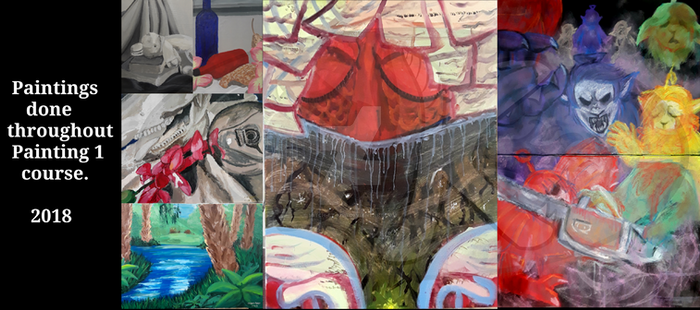 [Real Life] All my paintings