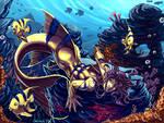 Speedpaint: AngelFish Merman
