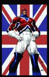 Captain Britain colored