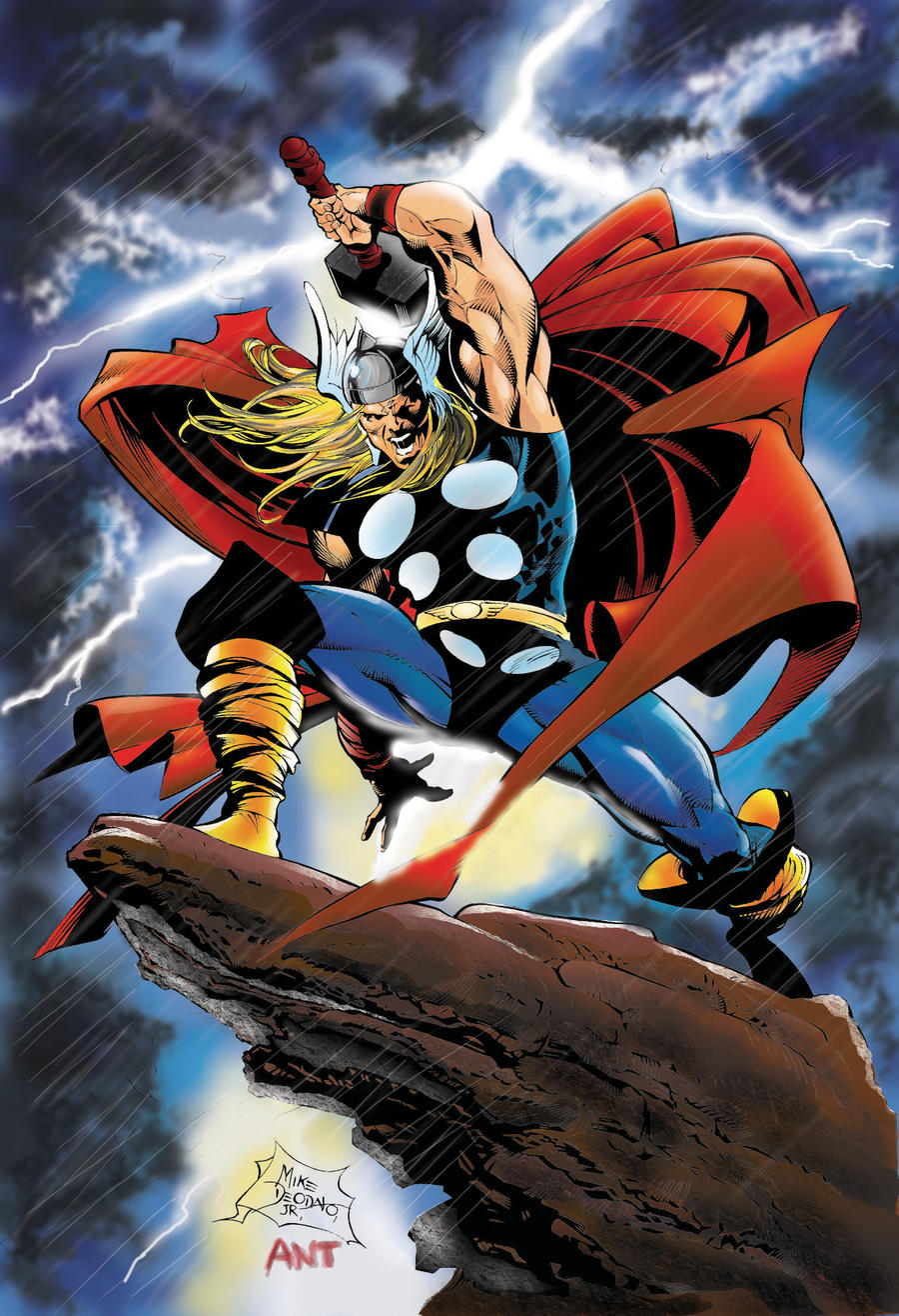 Part 14 / 9 Thor_by_Deodato_colors_by_me_by_antgarcia