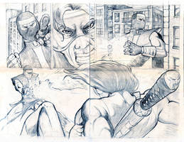CrossBearer 2page spread by antgarcia