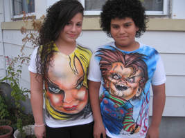 Airbrushhalloween T-shirts by antgarcia