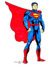 Superman_markers by Ant Garcia by antgarcia