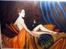 Airbrush portrait 4x6