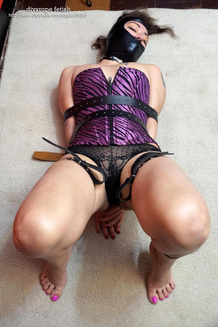 Beautiful slave captured III by DivaRope