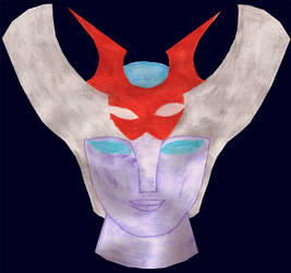 Minerva X (Mazinger Z) by Sayakita