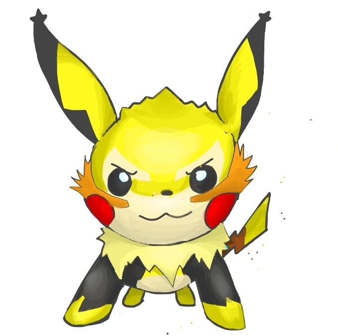 Mega Pikachu By Lurinzoo On Deviantart