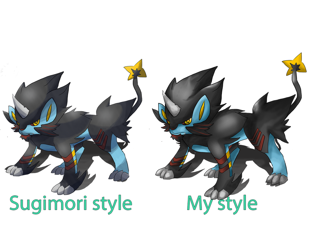 Mega Luxray (FANMADE) by lurinzoo on DeviantArt