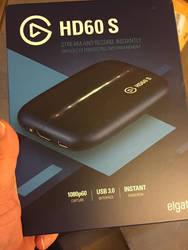Elgato capture card HD60 S