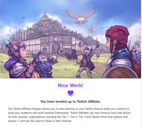 Twitch Affiliate!