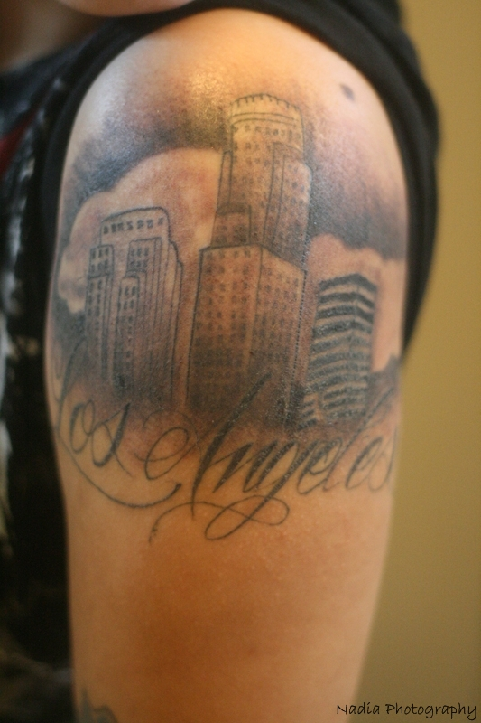 Los angeles tattoo by nadia9150 on deviantart for Los angeles tattoo