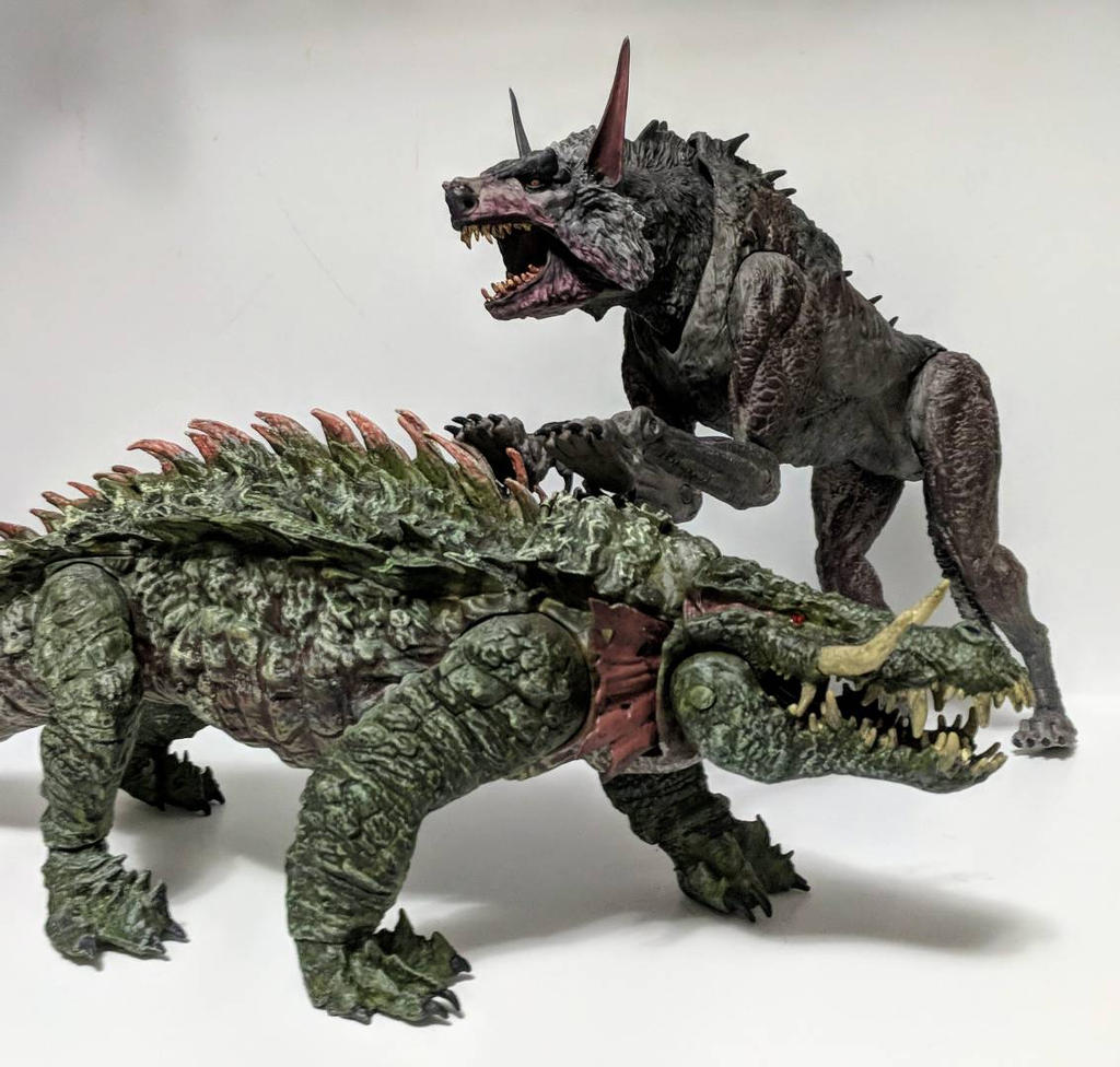 Custom Rampage Movie Ralph And Lizzie By Learningcustoms On Deviantart