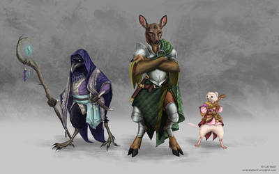 Anthro - Character Design