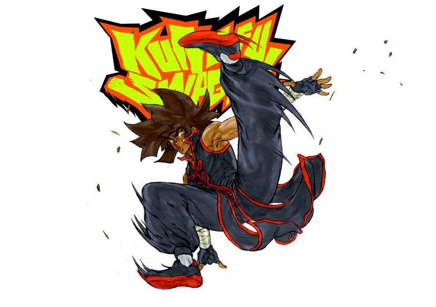 Kung Fu Swagga #1 Variant Cover by Kandoken