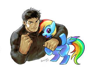 Ouendan X Rainbow Dash