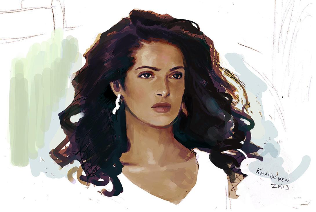 Резултат с изображение за salma hayek art