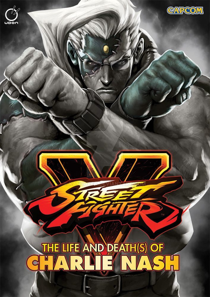 STREET FIGHTER V: THE LIFE AND DEATH(S) OF CHARLIE by Kandoken
