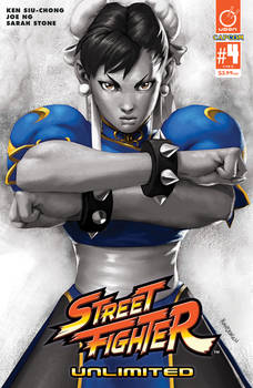 STREET FIGHTER UNLIMITED #4 Cover D Incentive