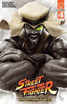 STREET FIGHTER UNLIMITED #6 Cover RASHID