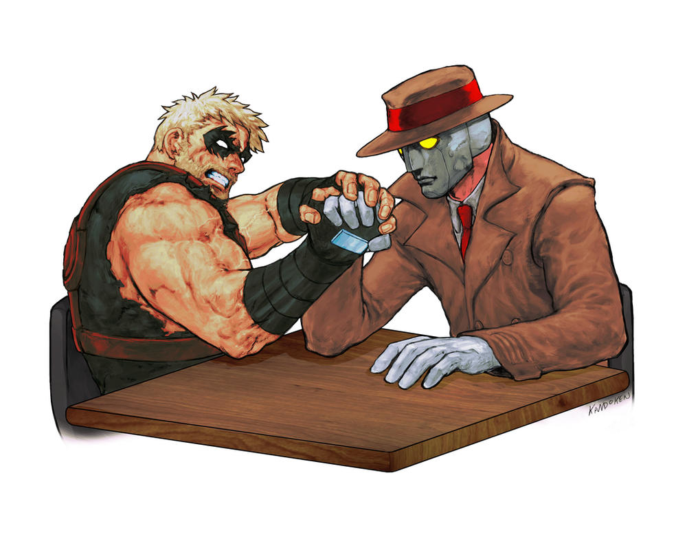 The Baz vs Q by Kandoken