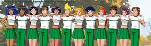 WOOHP Cheerleaders