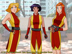 Spies in Kung Fu outfits