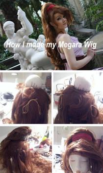 Megara wig - Tutorial