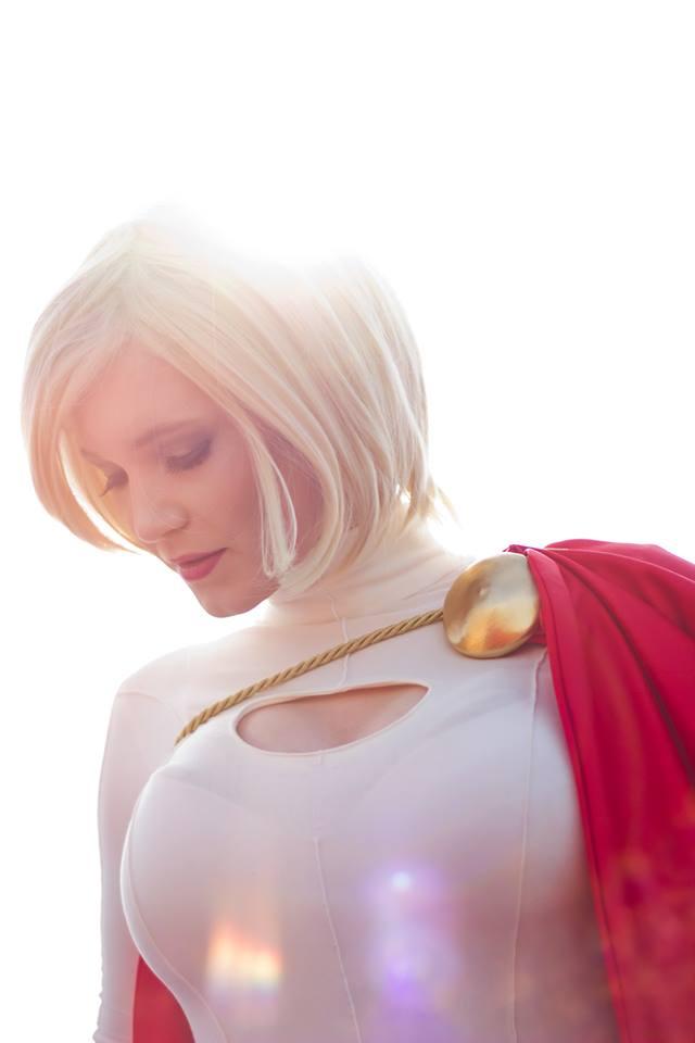 Power Girl by Su-rine