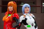 Asuka and Rei