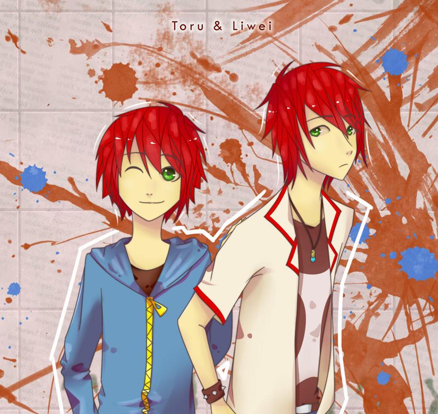 AT : Toru and Liwei by Chokinis