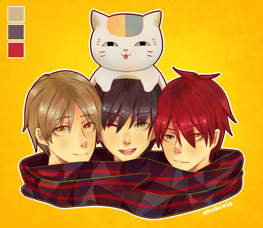 2013 Top 4 Favourite Characters! by Chokinis