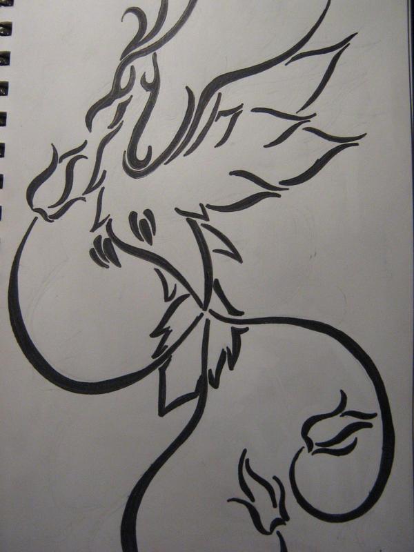 Une fille et ses aspirations de tattoo.. :) TD_TribalPhoenix_by_DjouZ