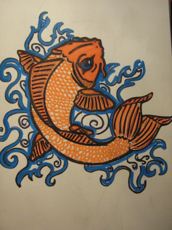 Une fille et ses aspirations de tattoo.. :) TD_TraditionalKoiFish_Bold_by_DjouZ