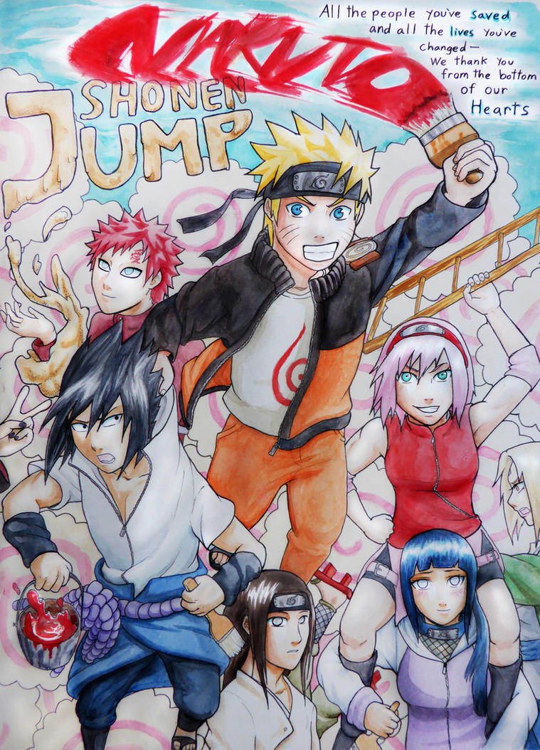 Naruto SJ Cover- Thank You by BloodKaika