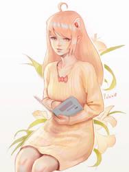 Liana doodle by Polkin
