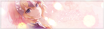 Jeanne D Arc Sig by epeldoll